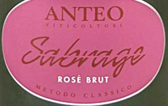 sabrage rose label