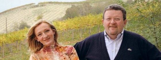 Antonella and Piero Cribellati, owners of the Anteo winery